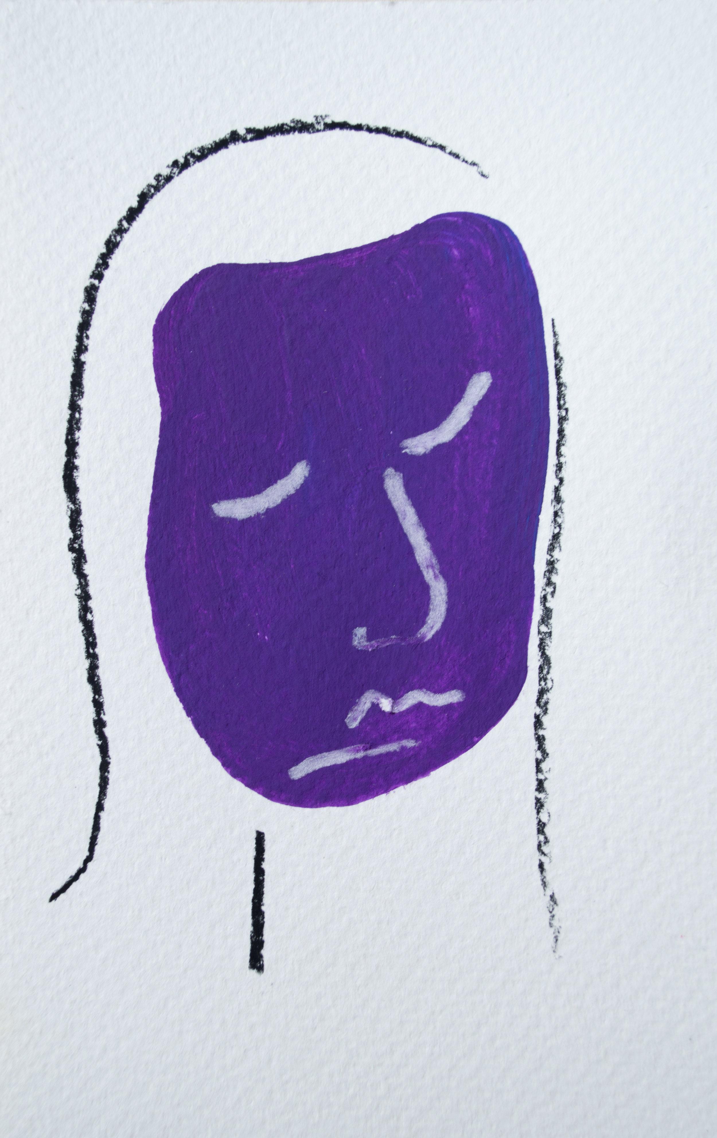 Eggplant Woman