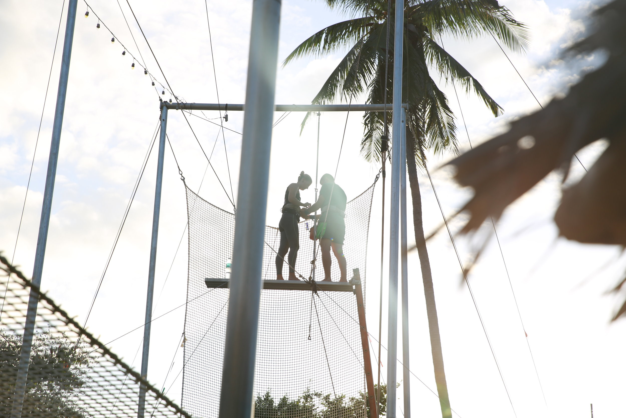 Flying trapeze koh tao