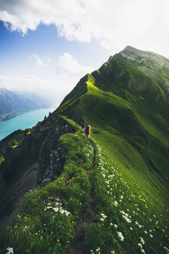 Lake Lucerne Switzerland Lungern, Switzerland Blue Lake,
