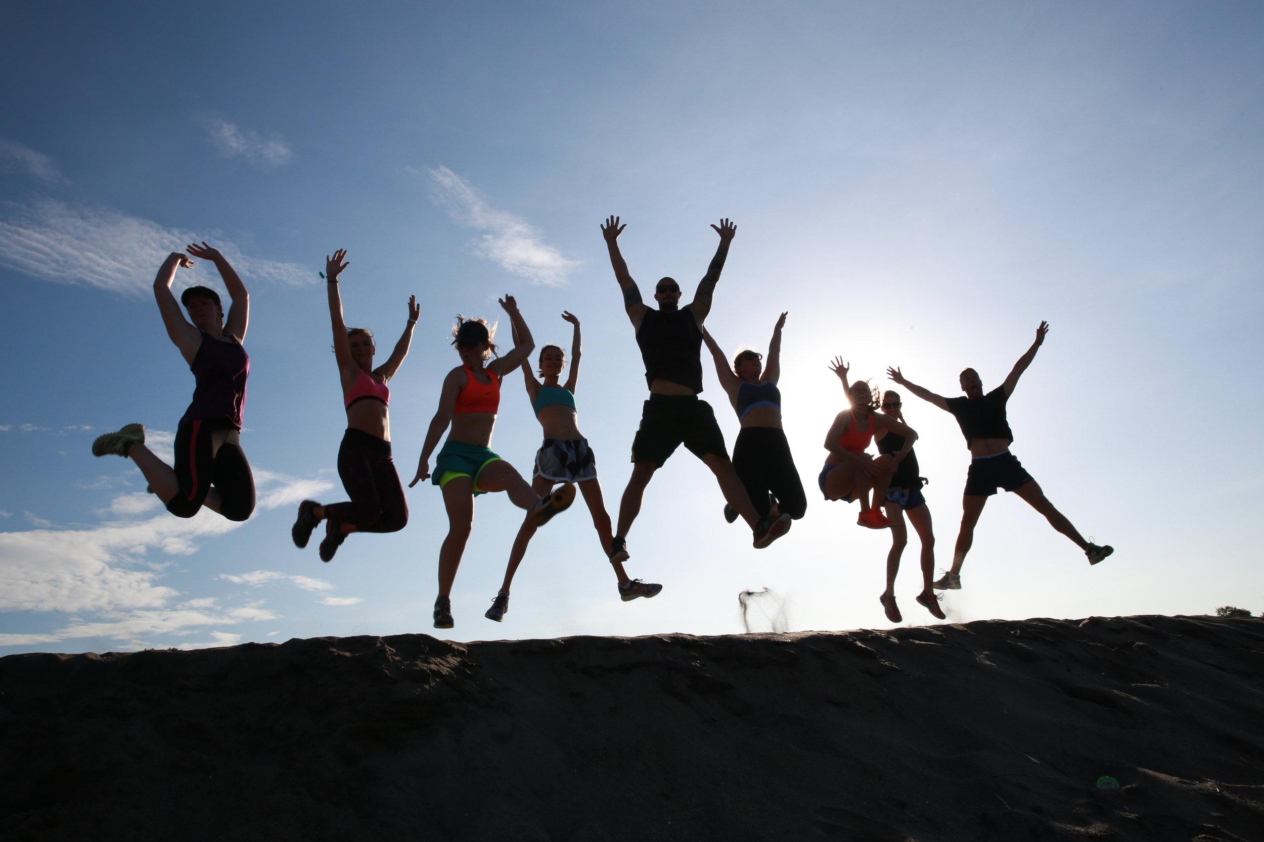 Bali retreat fun