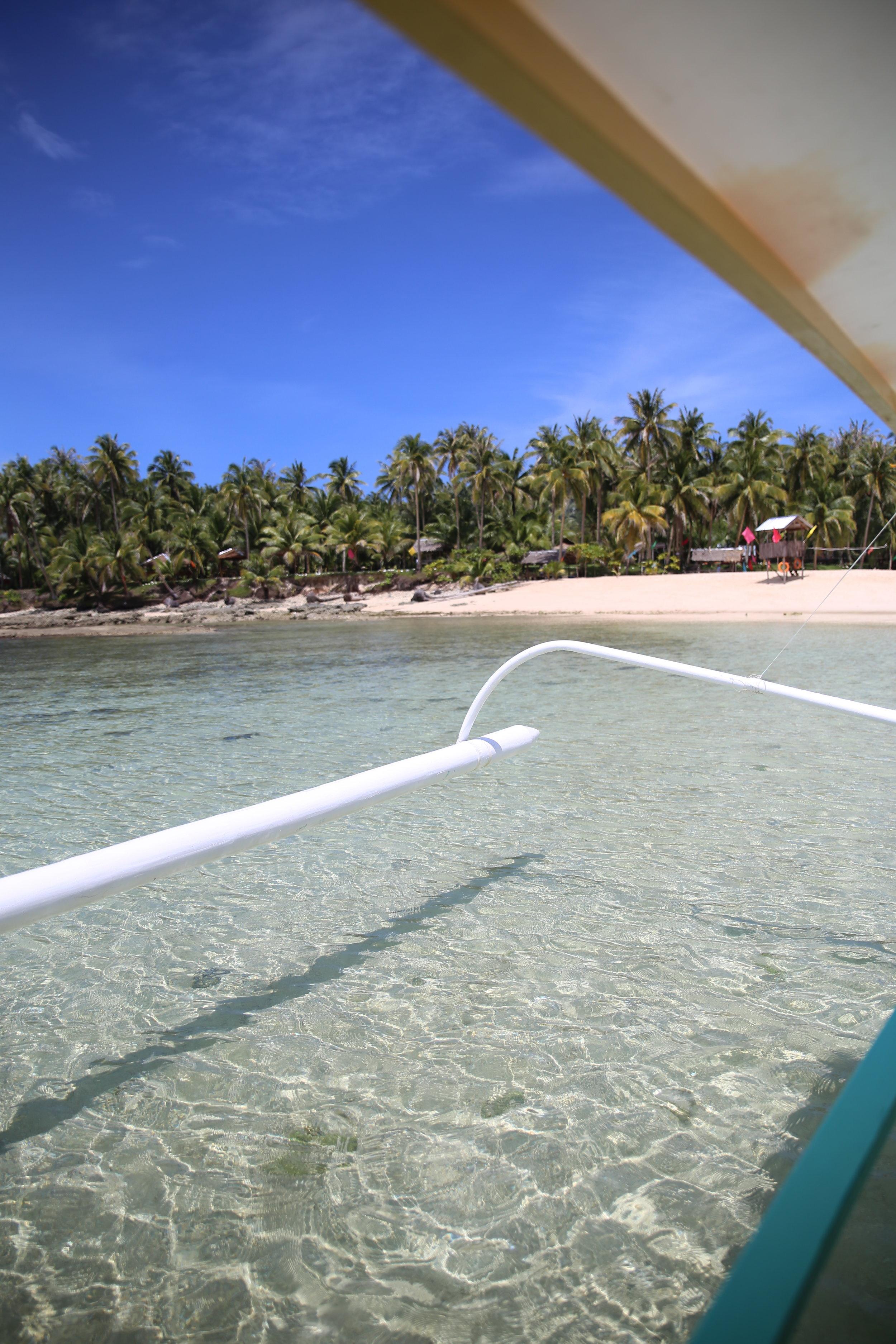 Siargao island hopping trips