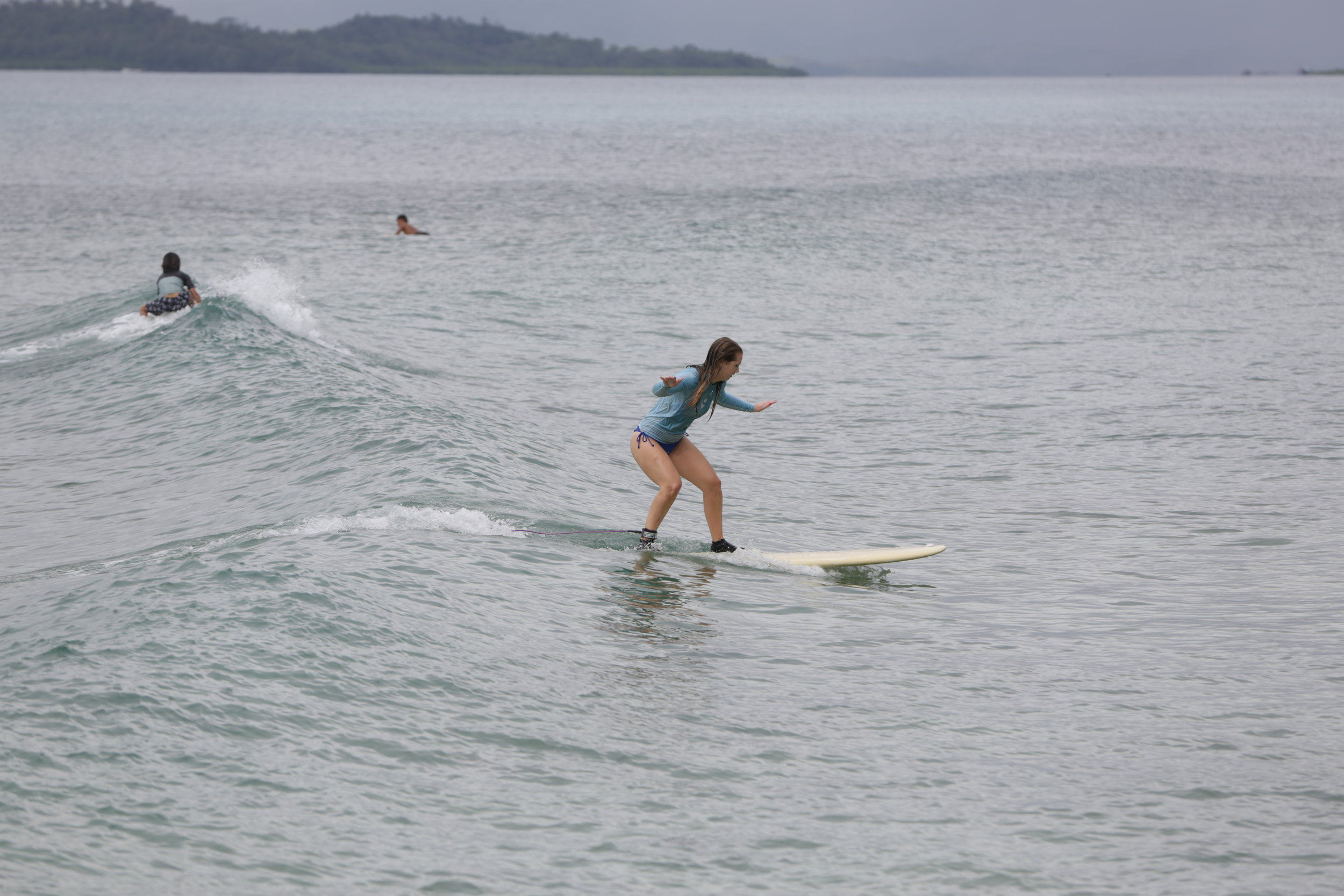 surfing school in siargao