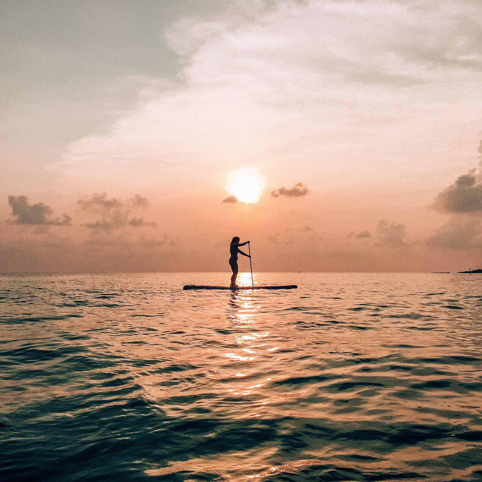 Stand up paddle boarding in Koh Samui
