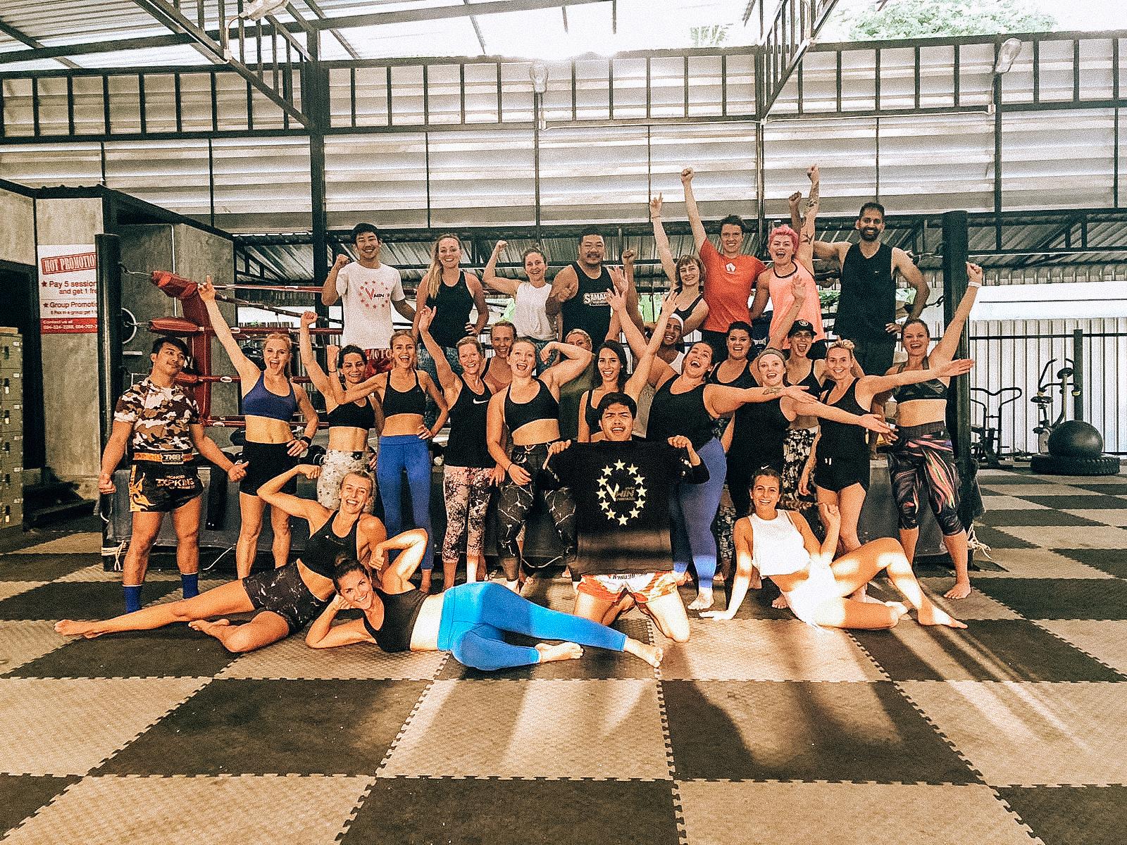 Muay Thai camp in Koh Samui
