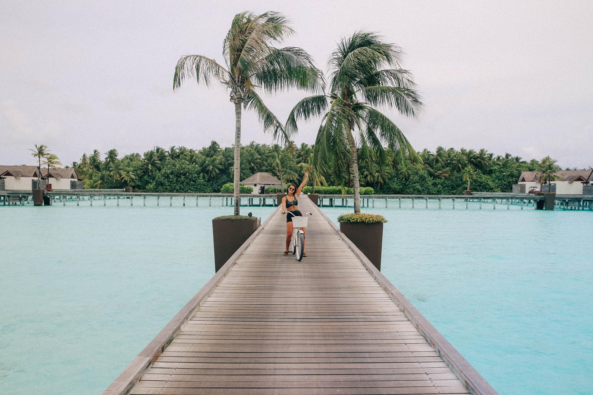 Niyama Maldives, Maldives resort with push bikes