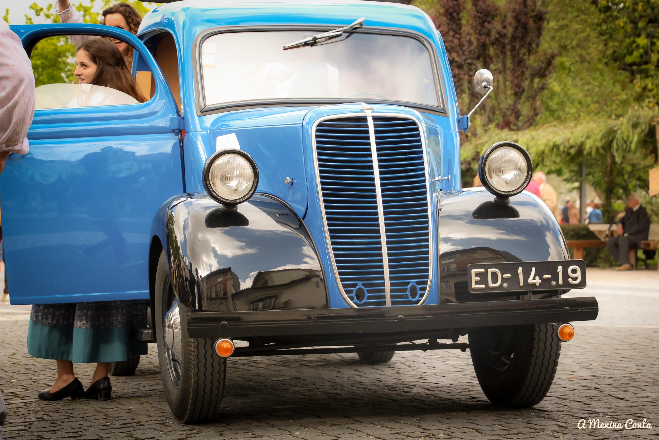 Os maravilhosos carros de época!