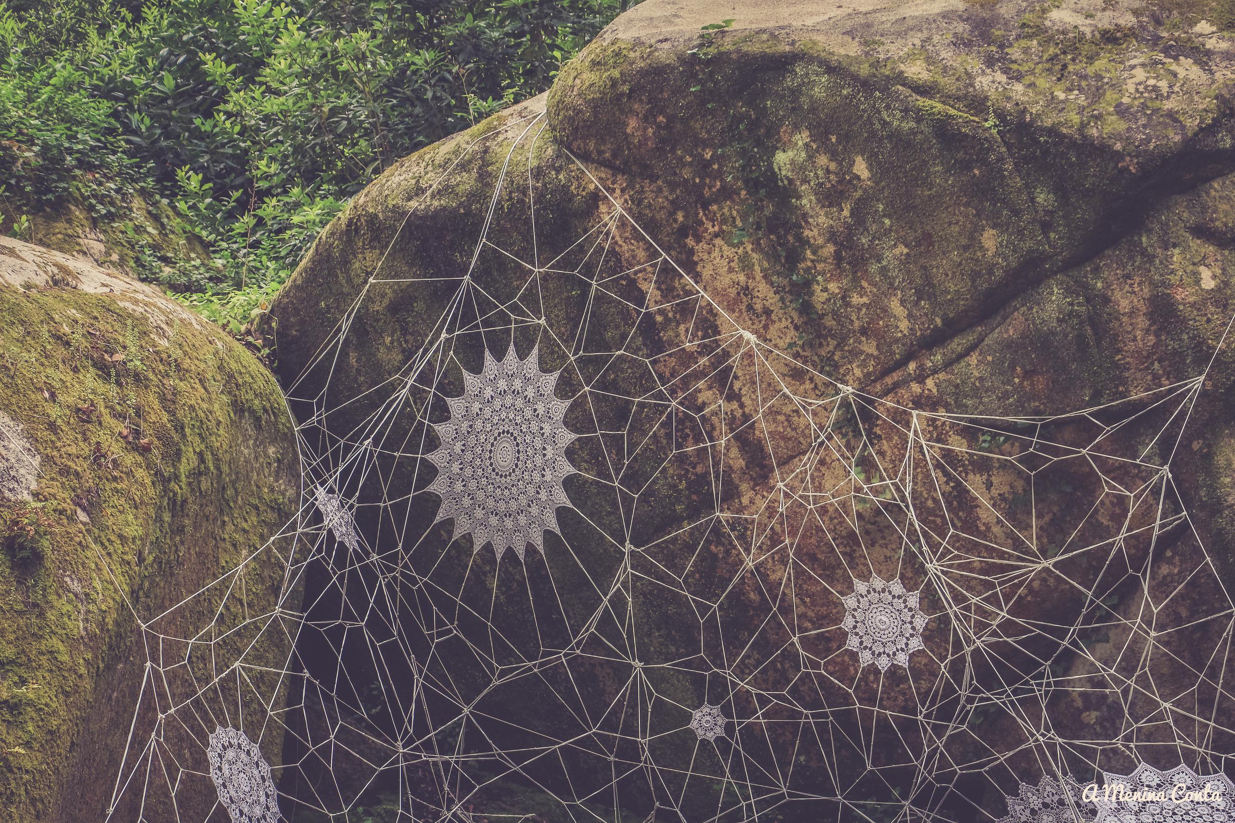 """A """"Teia de Aranha Gigante""""."""