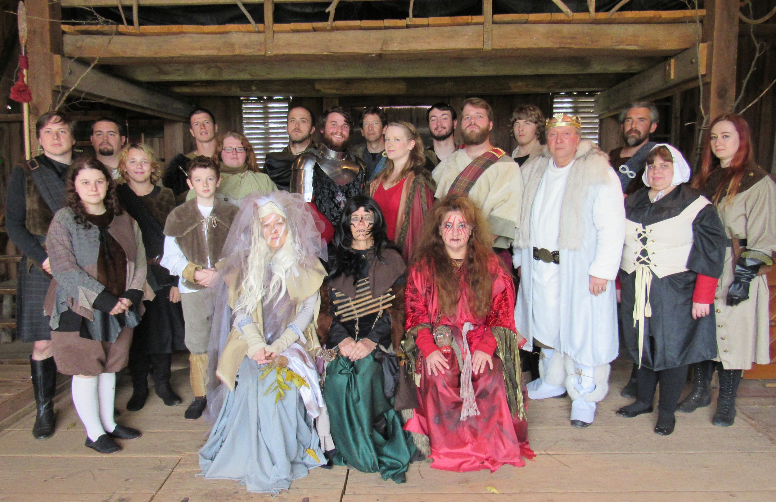 THE TRAGEDY OF MACBETH - OCTOBER, 2015