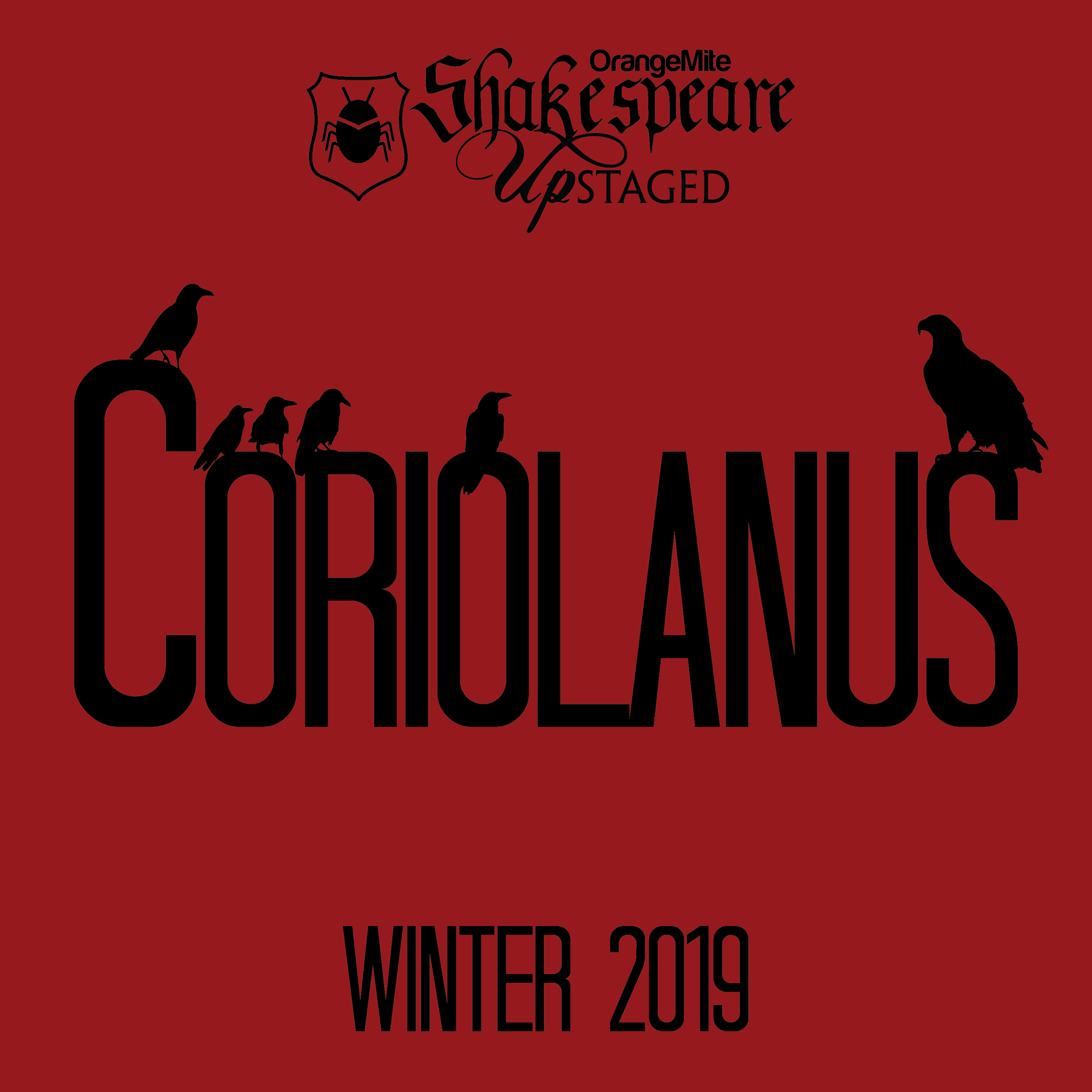 Coriolanus Shows December 2019 -