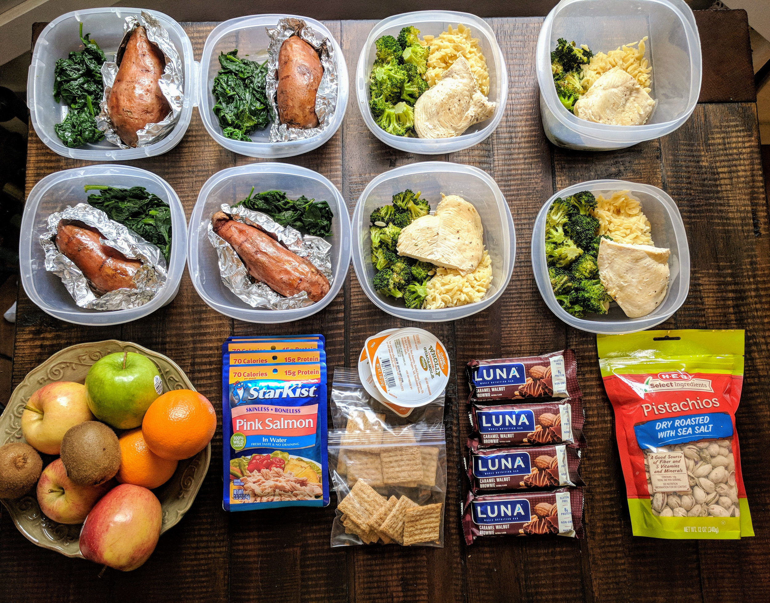 This 90 minute meal prep will provide you with a variety of healthy meals while saving you time, money, and helping you reach your weight loss goals.