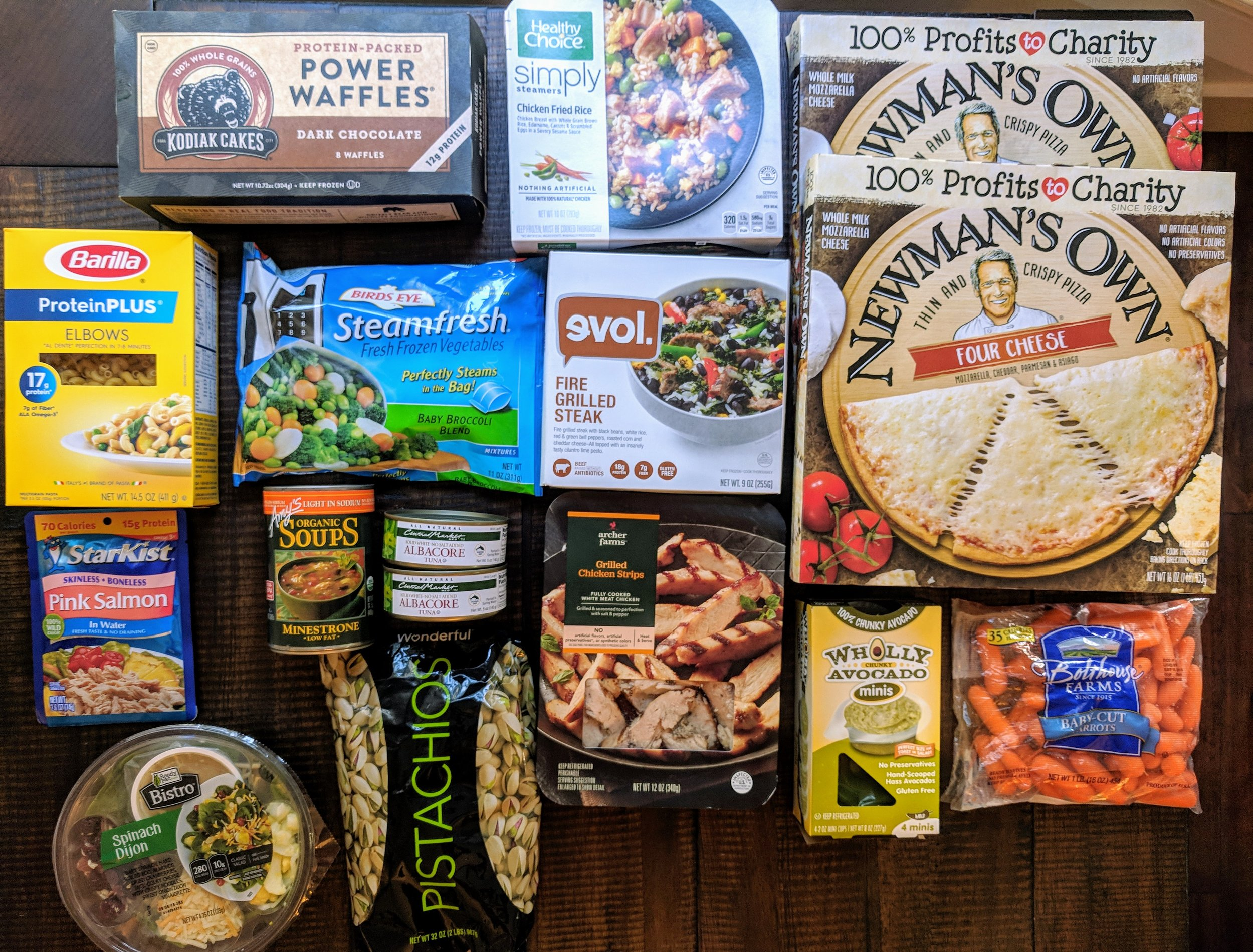 A few of our favorite convenience items to stock in the freezer, fridge, and pantry for those days and evenings when cooking just doesn't fit in the schedule.