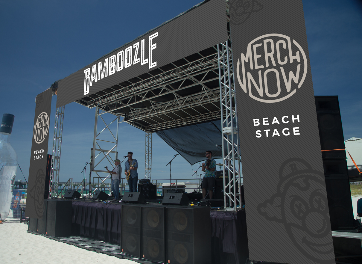 Beach Stage Sample Design