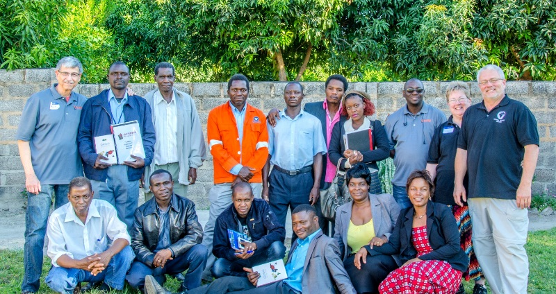 2015 Three Week Intensive training Class in Sesheke