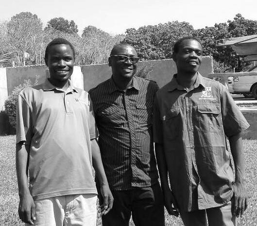 Pastors Bosco Kutoma, Percy Muleba and Yuyi Mundia