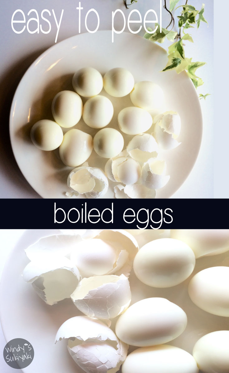 How to cook easy to peel boiled eggs. Try this method next time.