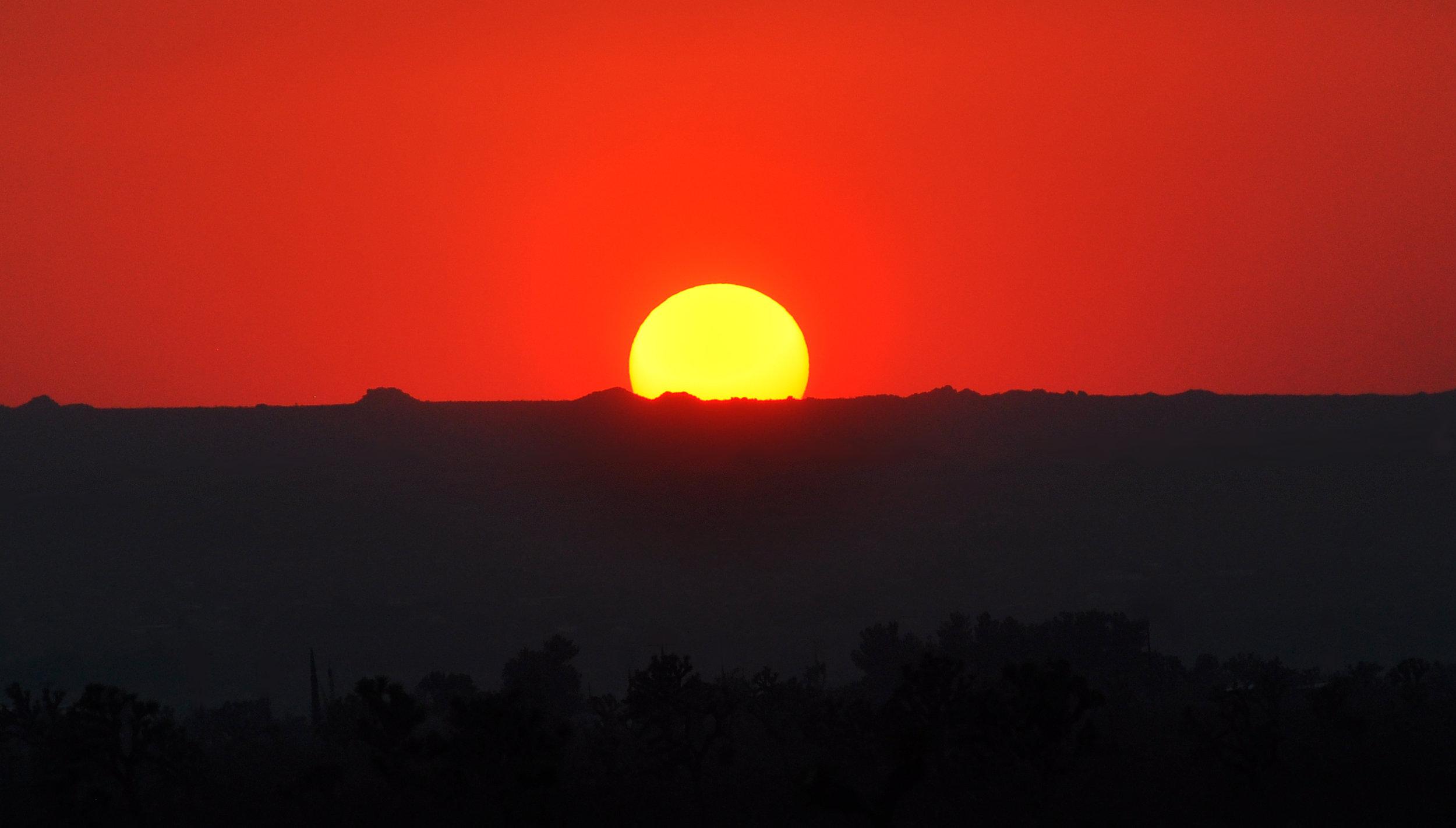 Summer Solstice Sunset; Photo by Jessie Eastland
