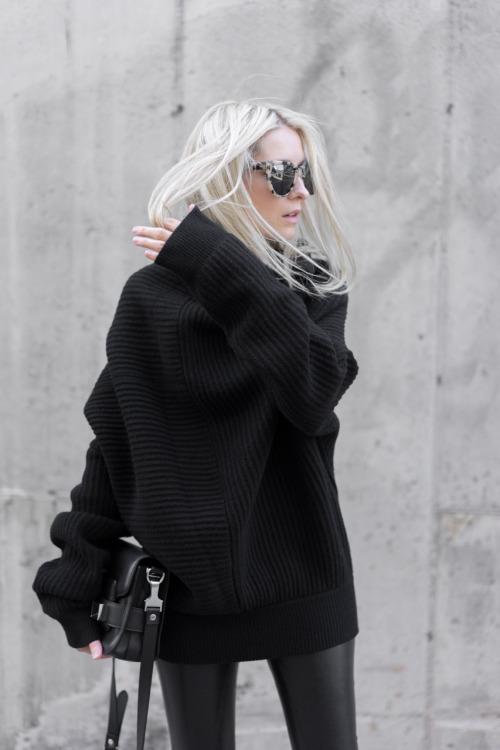 i feel like blonde + black will take my wardrobe to the NEXT LEVEL.