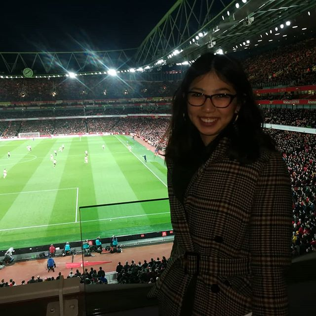 Arsenal v Newcastle VIP box experience thanks to BYD and my darling dad