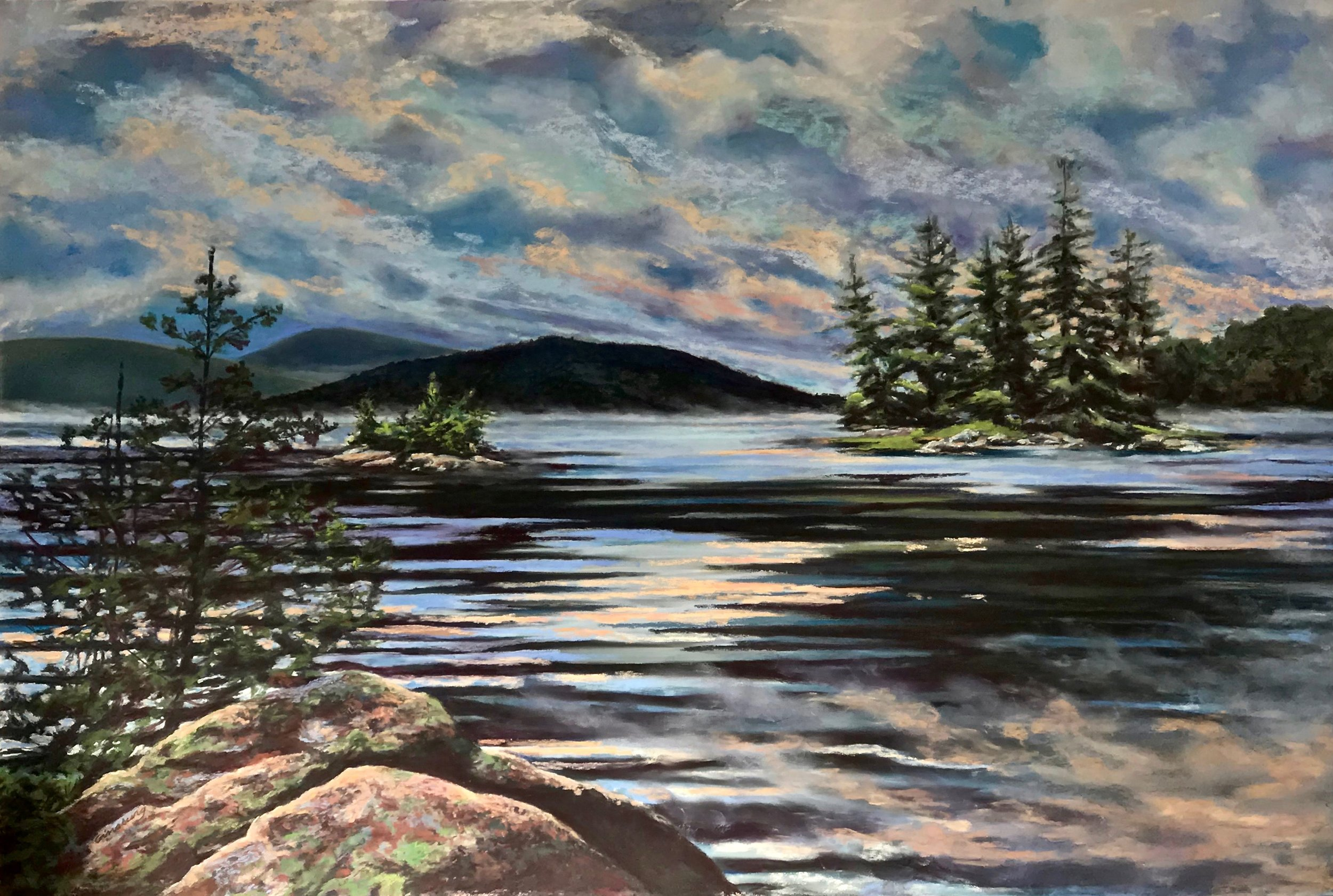 COMMISSION  SIRENS OF TUPPER LAKE  24 X 36  Cheri Ginsburg©  SOLD