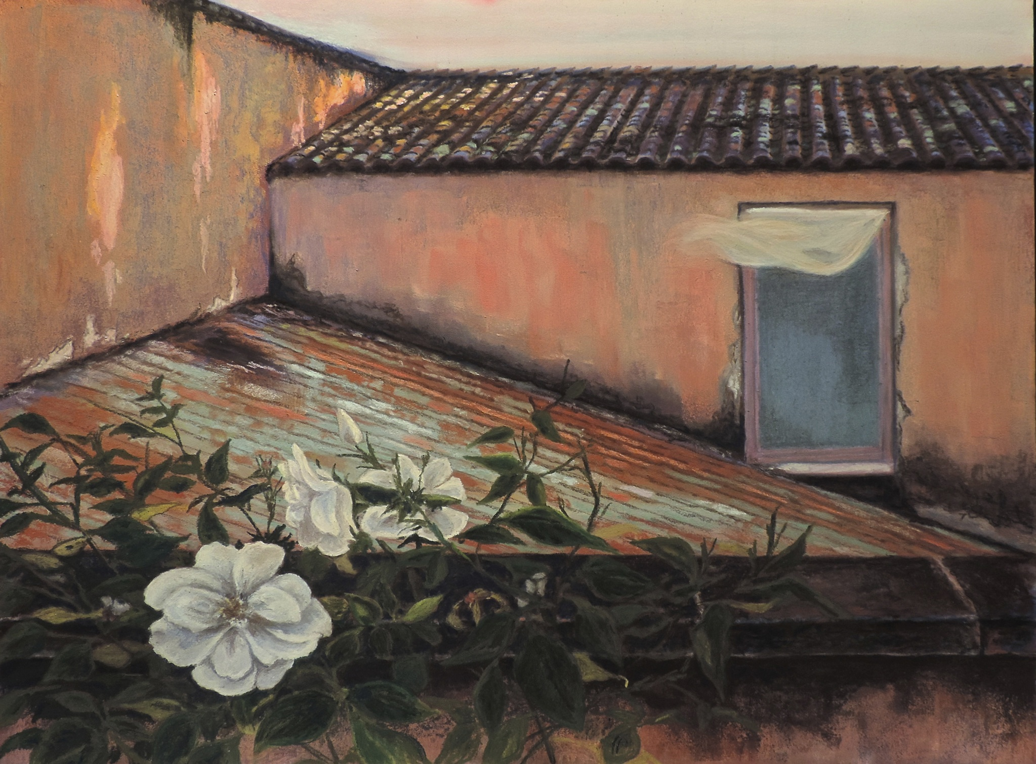 """Tuscan Breeze"" by Cheri Ginsburg©  Juried Selection / Italian-American Museum ""Heart Of Italy"" Exhibition"