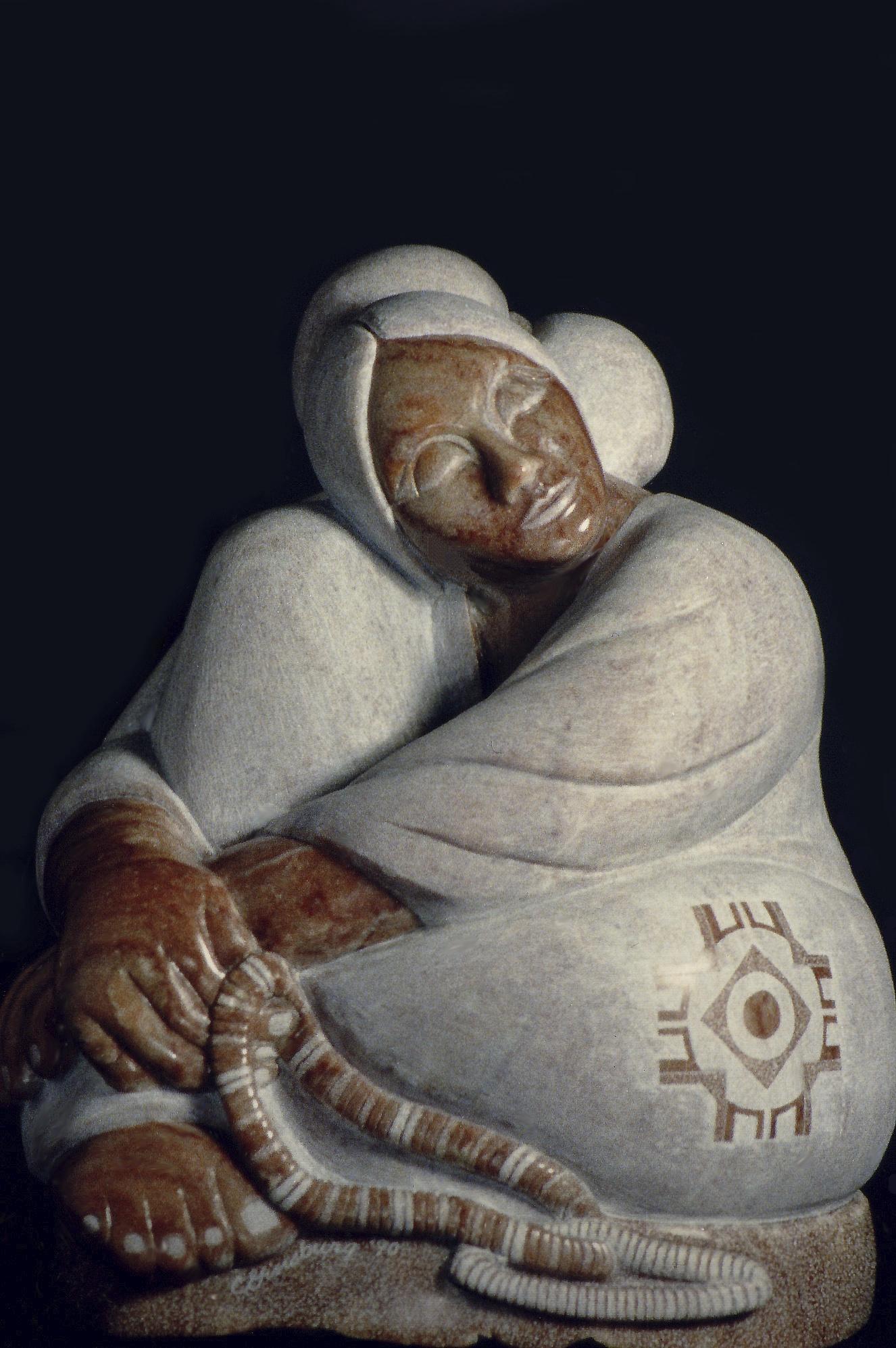 """Daydreamer"" by Cheri Ginsburg©  Dimensions '90 National 3-Dimentional Art Show, Lenexa, KS"
