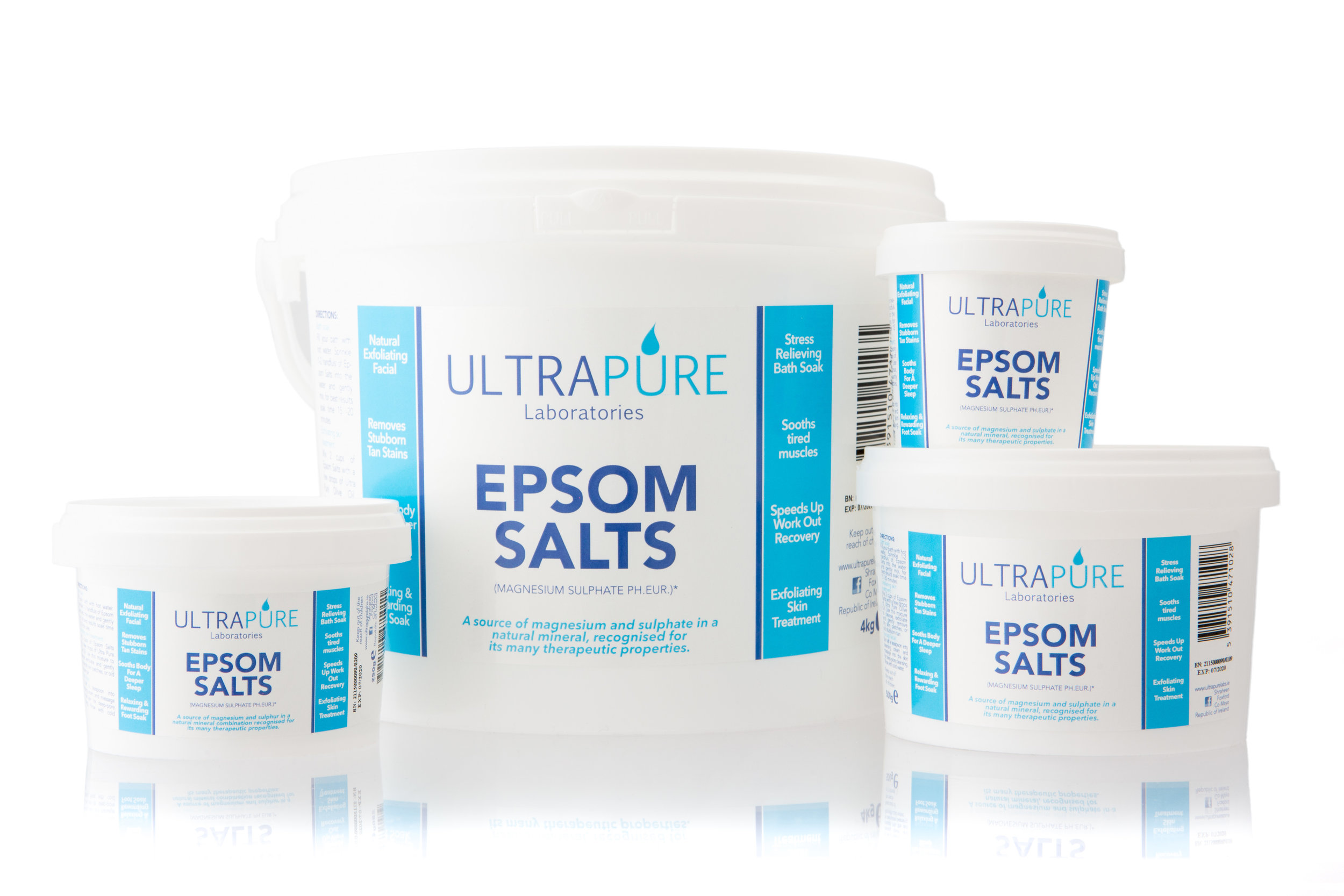Epsom Salts is a great way to aid the body in a natural process of soothing and relaxing after sports, athletics or simply a busy day.
