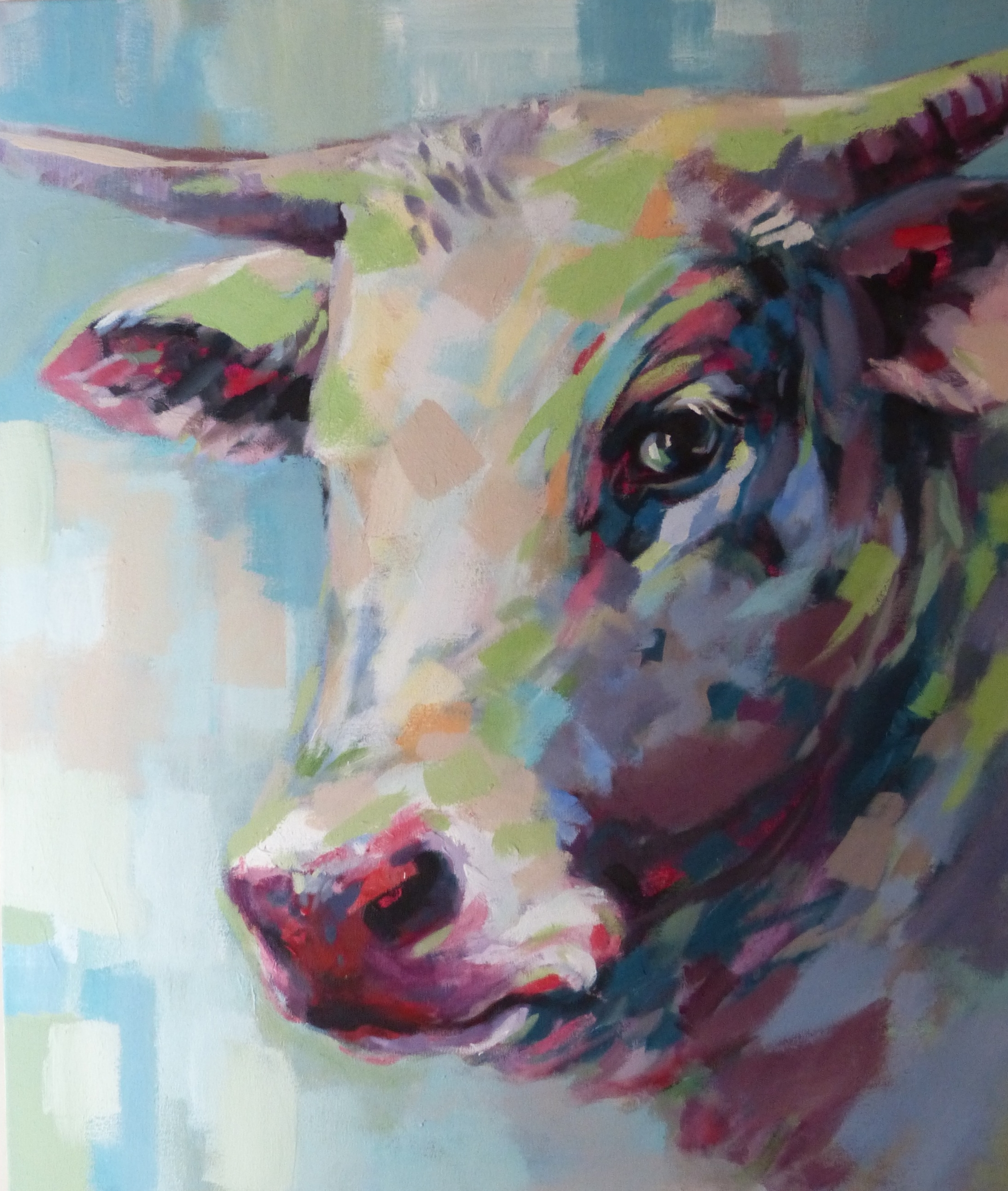 Abstract Cow 2
