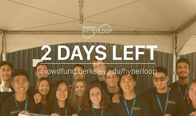 TWO DAYS LEFT!! Click that link in our bio to help us go 300mph 💫