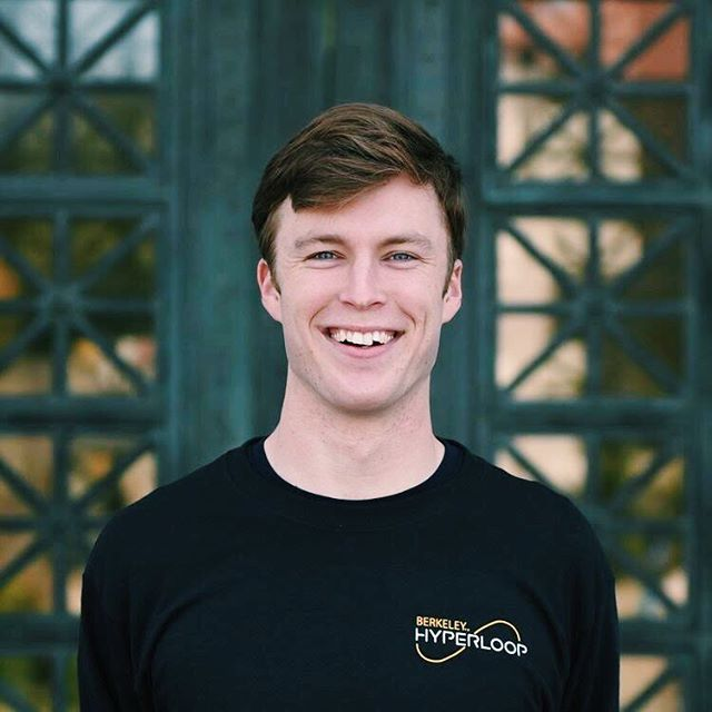 We're starting our team member Sundays so you can get to know our team!  For our first Sunday we have Conlon Meek 💫  Year/major: Junior-Mechanical Engineering Role: Project Manager of Hyperloop Summer plans: Interning at Dolby Labs and working on Hyperloop testing  He started on the Suspension subsystem, and fell in love with solving the unique engineering problems that arise when you're moving at hundreds of mph in a vacuum. He loves to play football and frisbee and will definitely beat you at MarioKart on GameCube.
