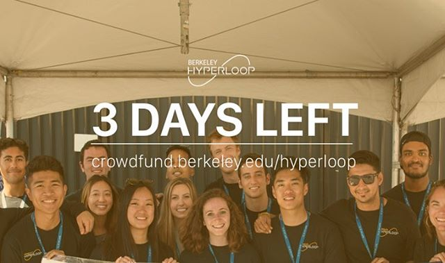3 days left until our crowdfunding ends! Please help support our team 💫 Link in Bio