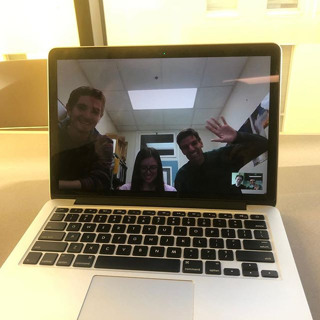 Just had an awesome video chat with @cal_poly_hyperloop exchanging ideas.  You guys are awesome! Congrats on getting in to the @spacex competition. Let's build the future! #hyperloop