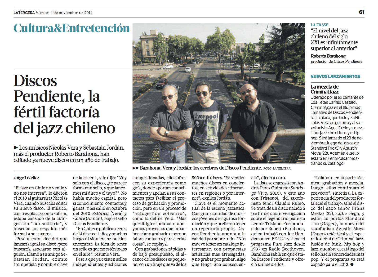 La Tercera 2011.jpg