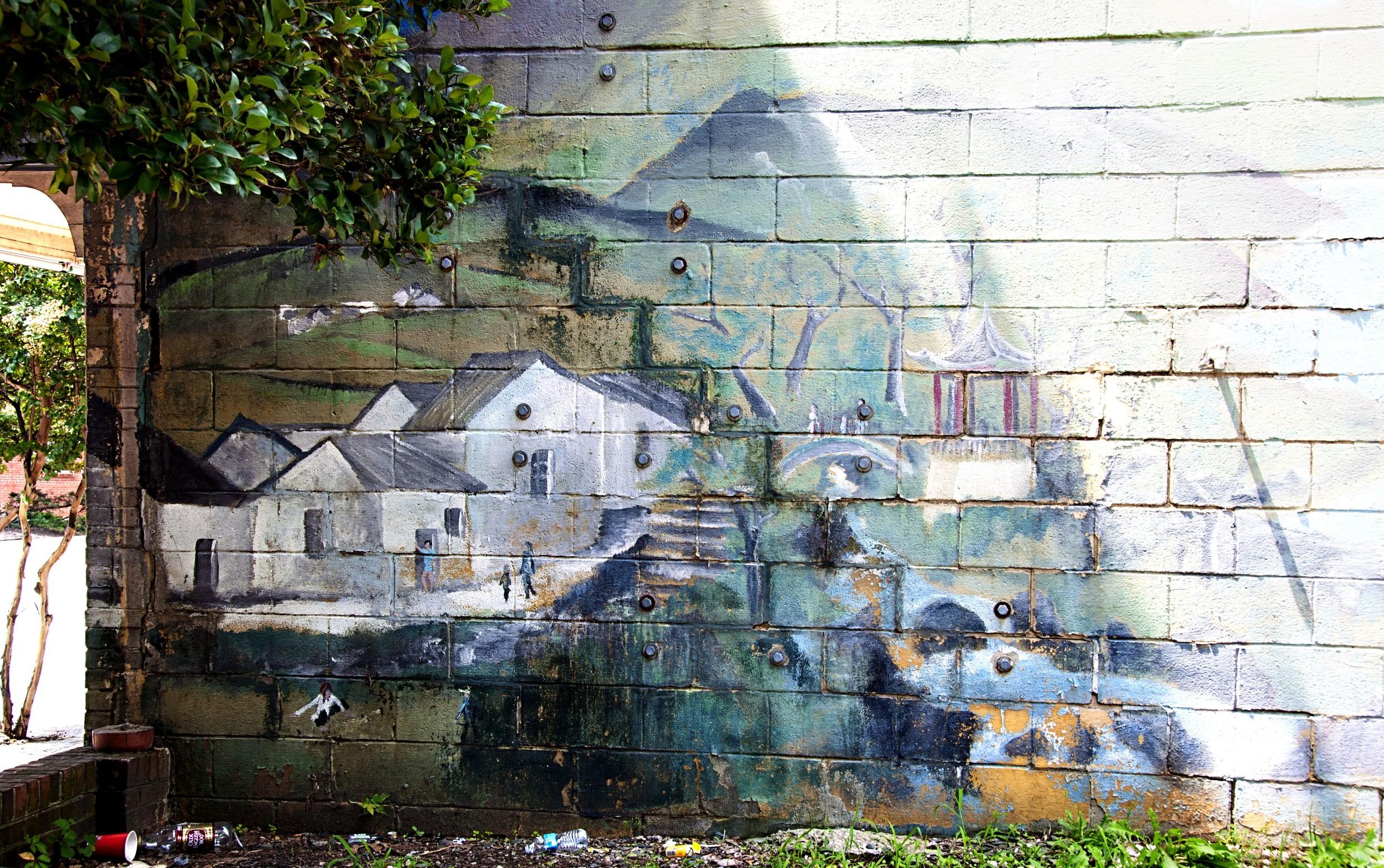 Fishing Village mural
