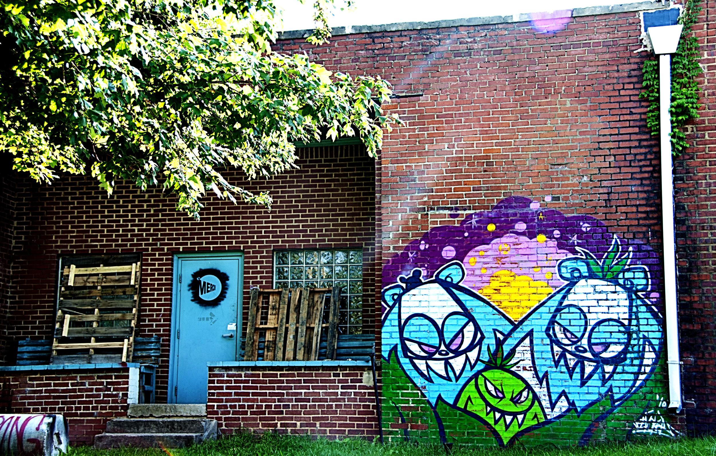 wootini - mural - evoker - carrboro - NC
