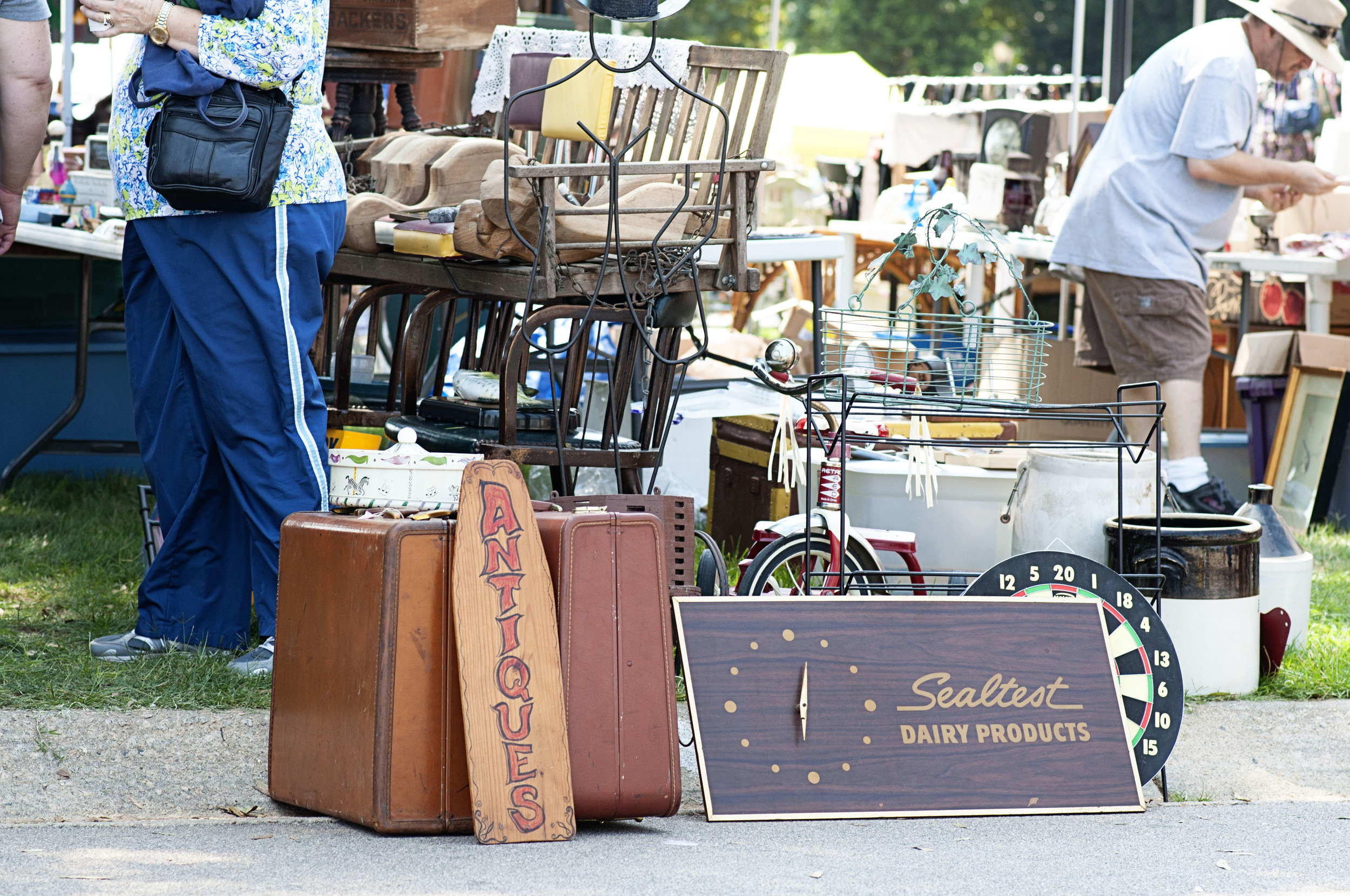 Raleigh Flea Market - North Carolina State Fairgrounds - NC - Chape Hill