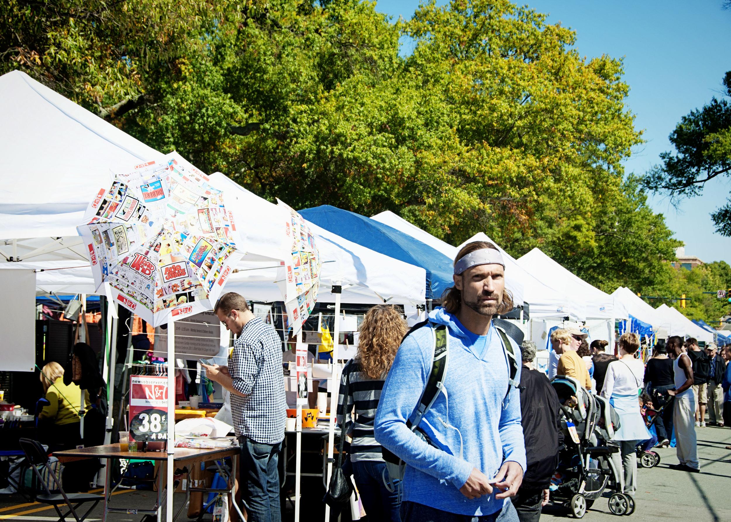 Chapel Hill Festifall 2014 - Franklin Street - NC