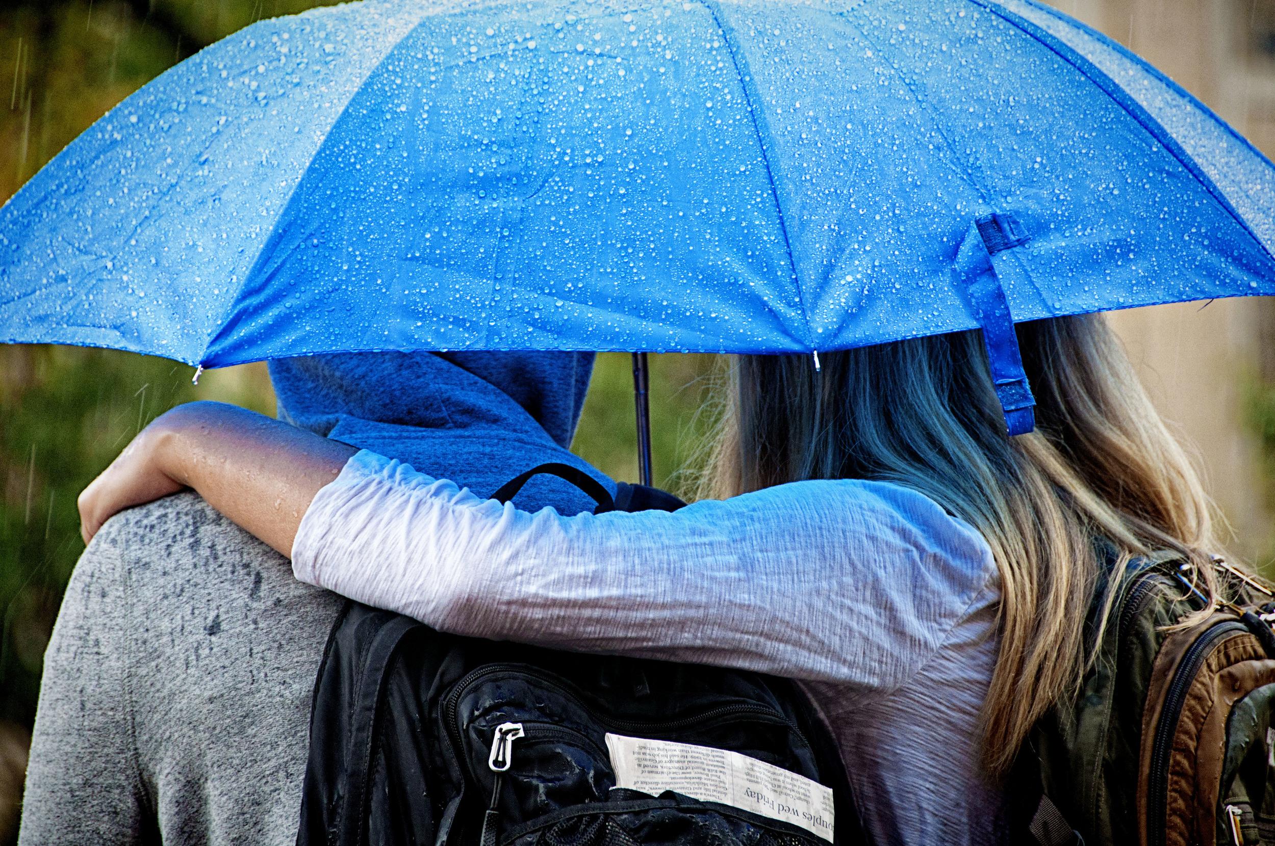 Weather - rain - umbrella - Chapel Hill - NC