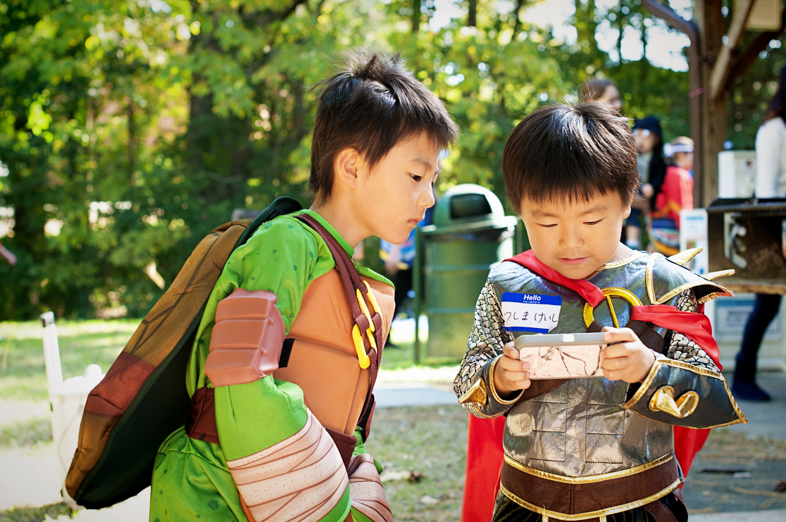 Chapel Hill-Durham Japanese Association -  Fall Picnic - Wilson Park - Carrboro