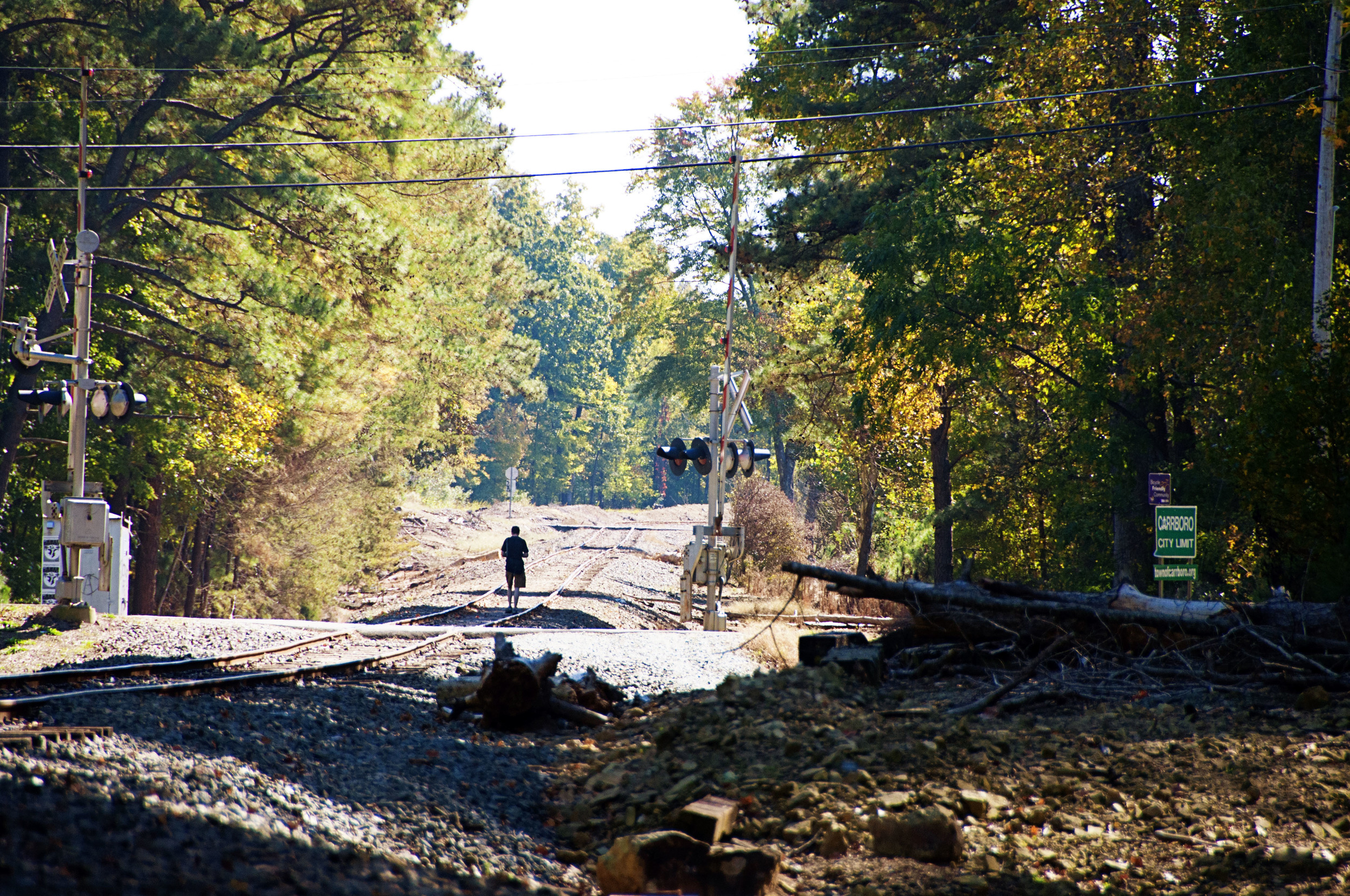 Carrboro Train Tracks - NC