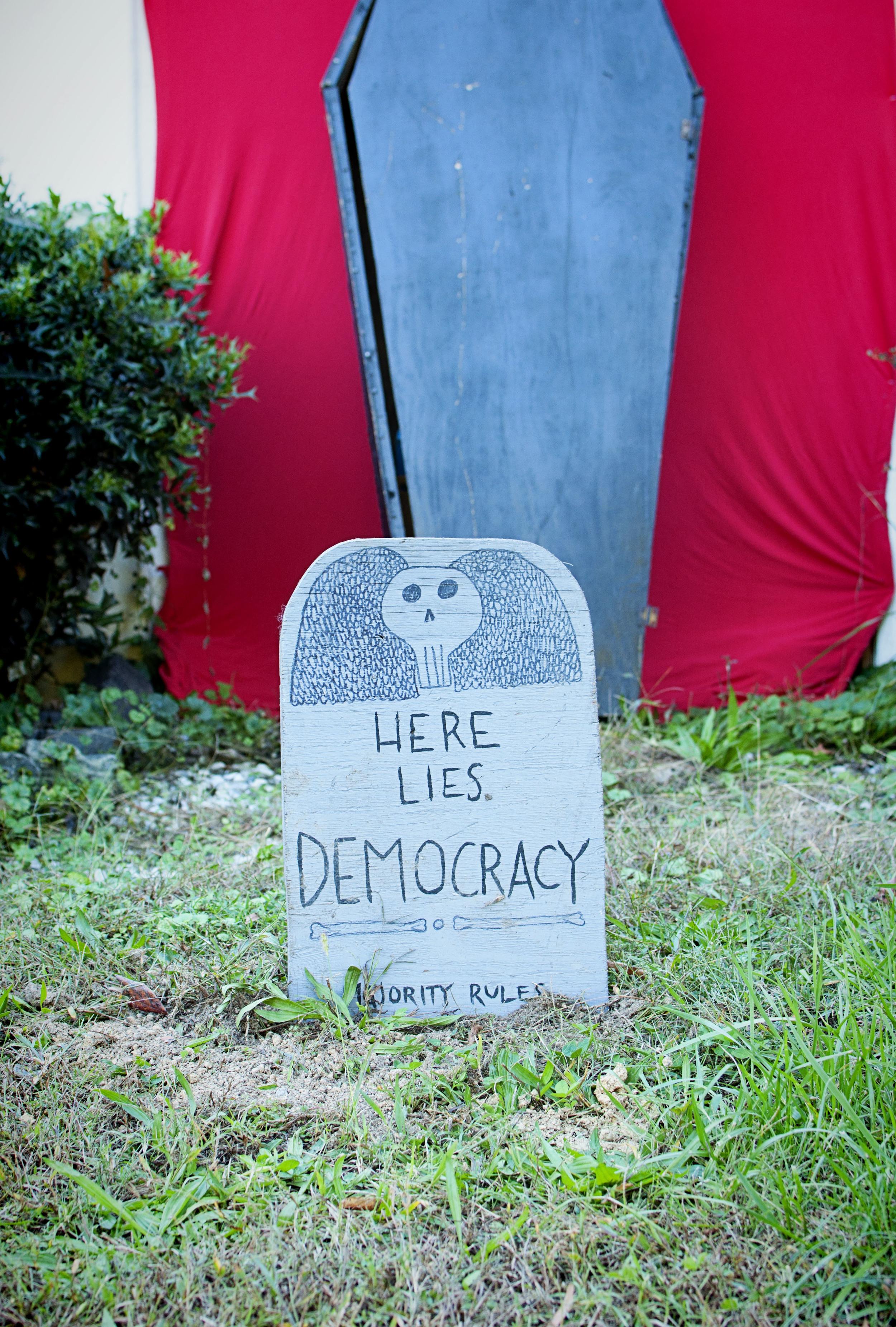 Carrboro - Halloween - Democracy