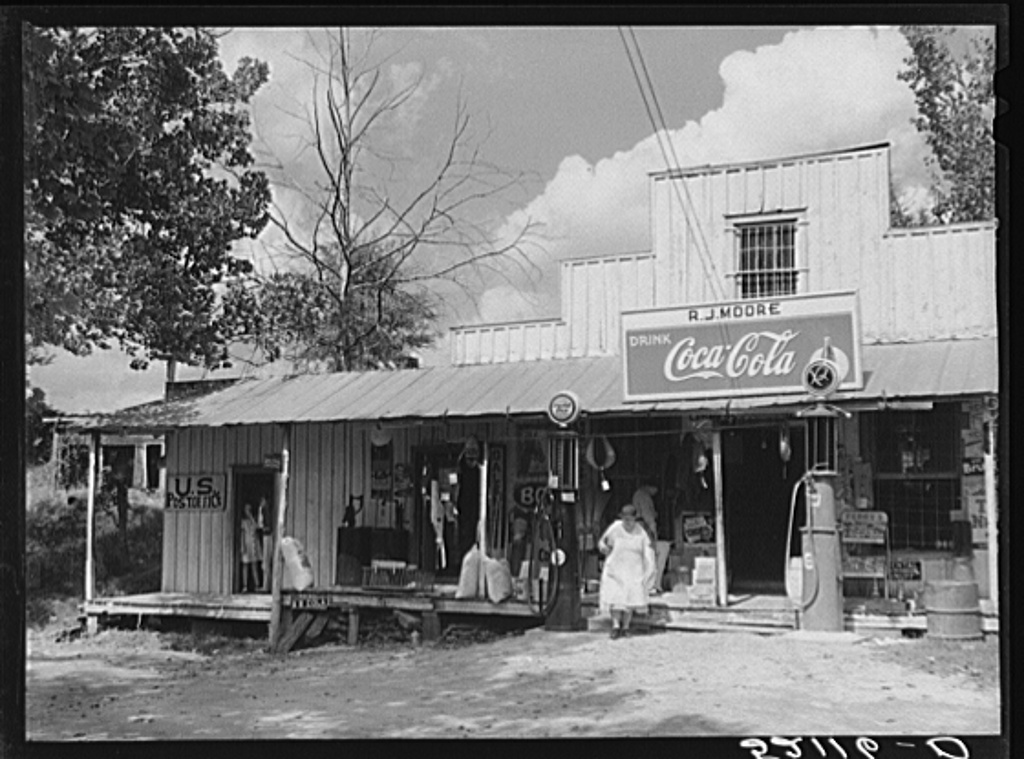Bynum General Store circa 1939, Marion Post Wolcott, Yale