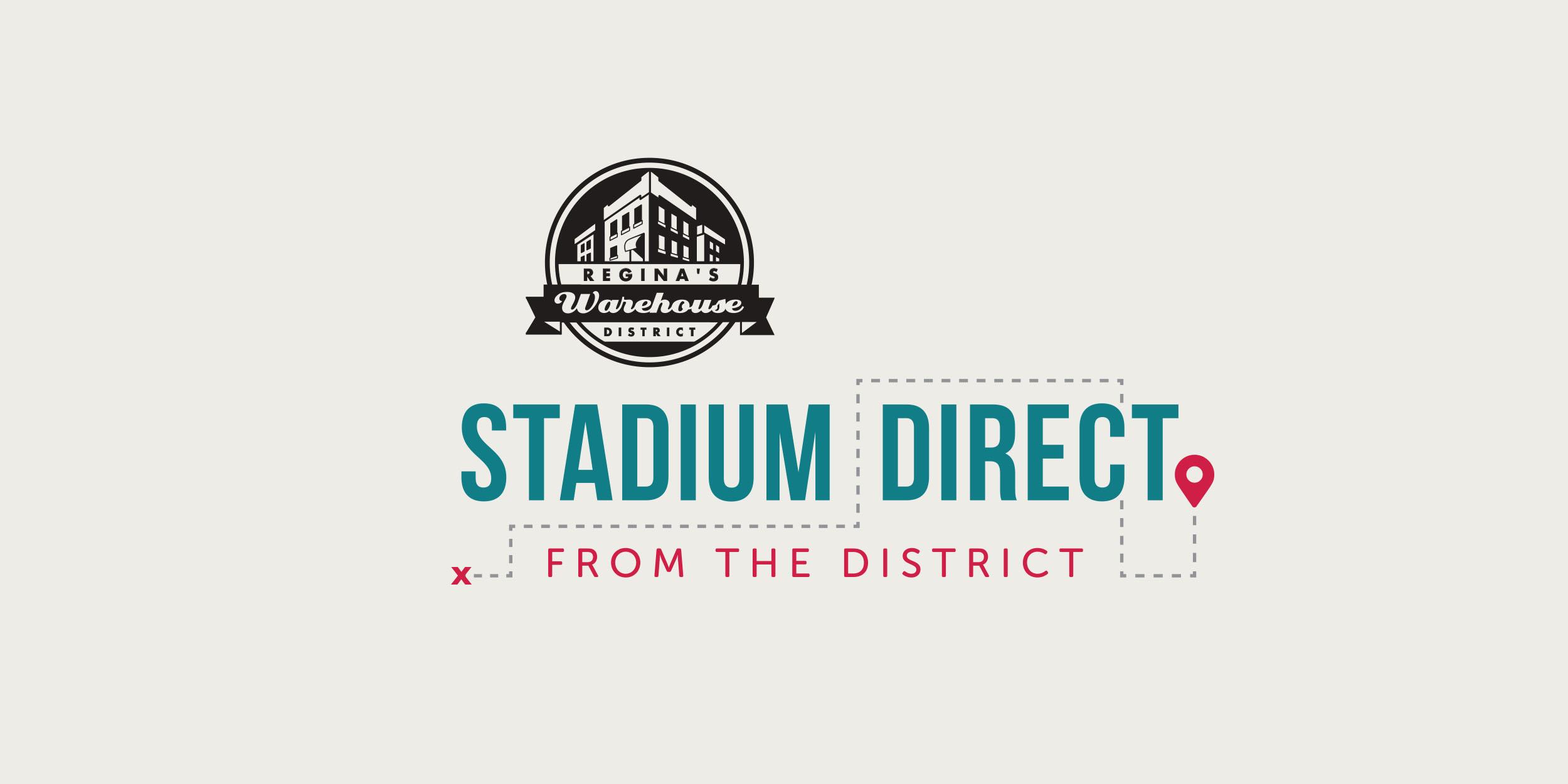 Graphic Design - Advertising Campaign - Stadium Direct - Makewell Creative Co - Regina, SK