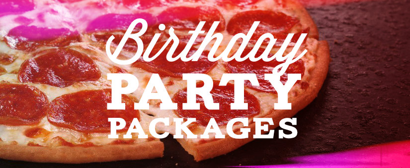 Kids Birthday Party Packages are available at 300 Bowl.  *Reservations and a deposit are required.