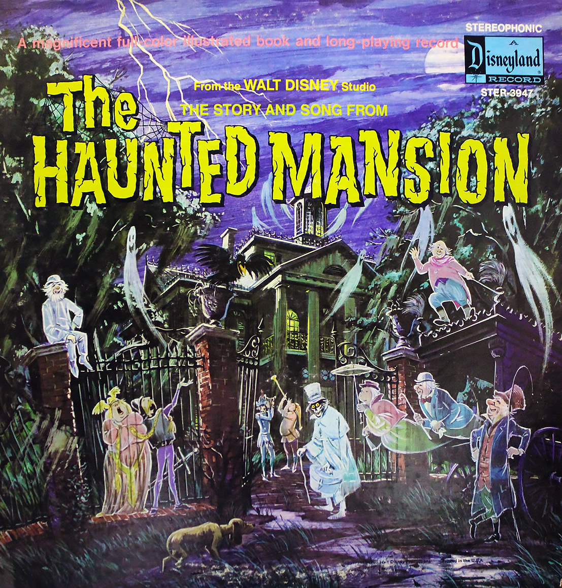 Disneyland Records 1969 release of The Haunted Mansion