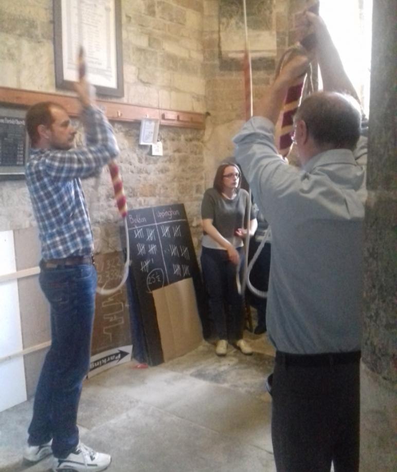 Belton in Rutland :Our Ringing Masters, Louis Totaro and Alan Ellis