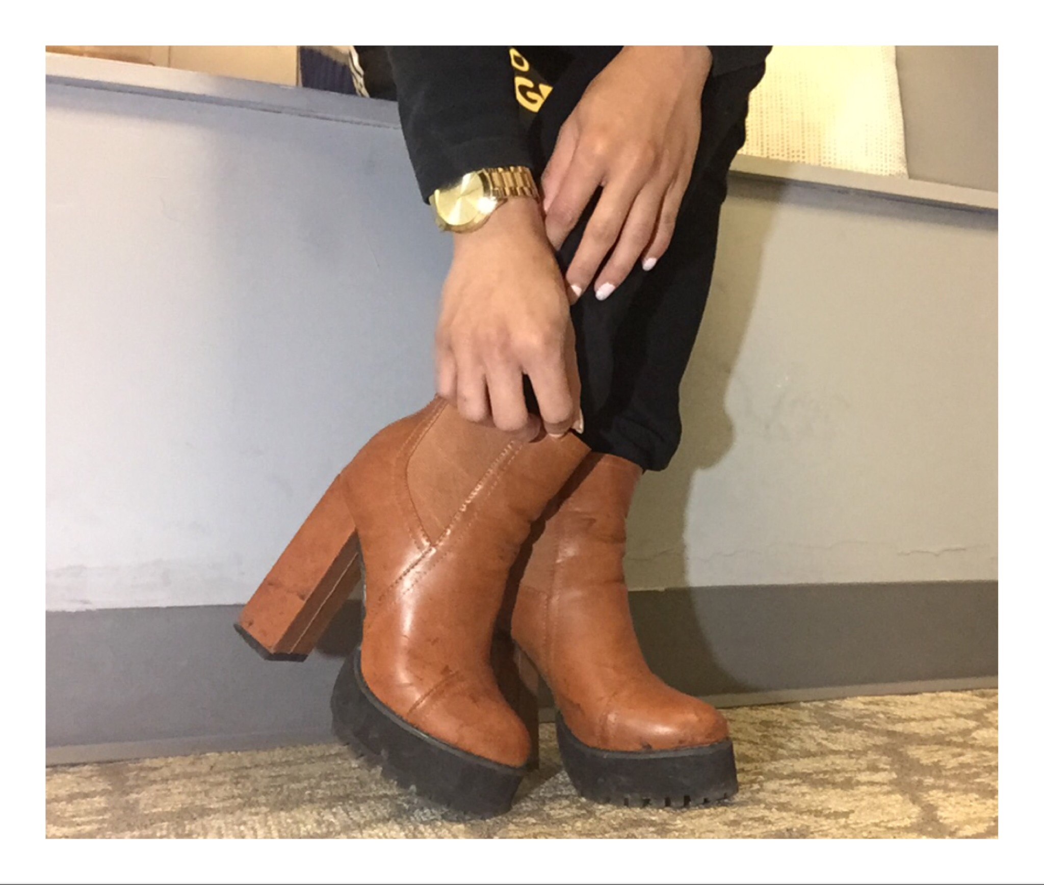 Boots from SHEinside.com $30