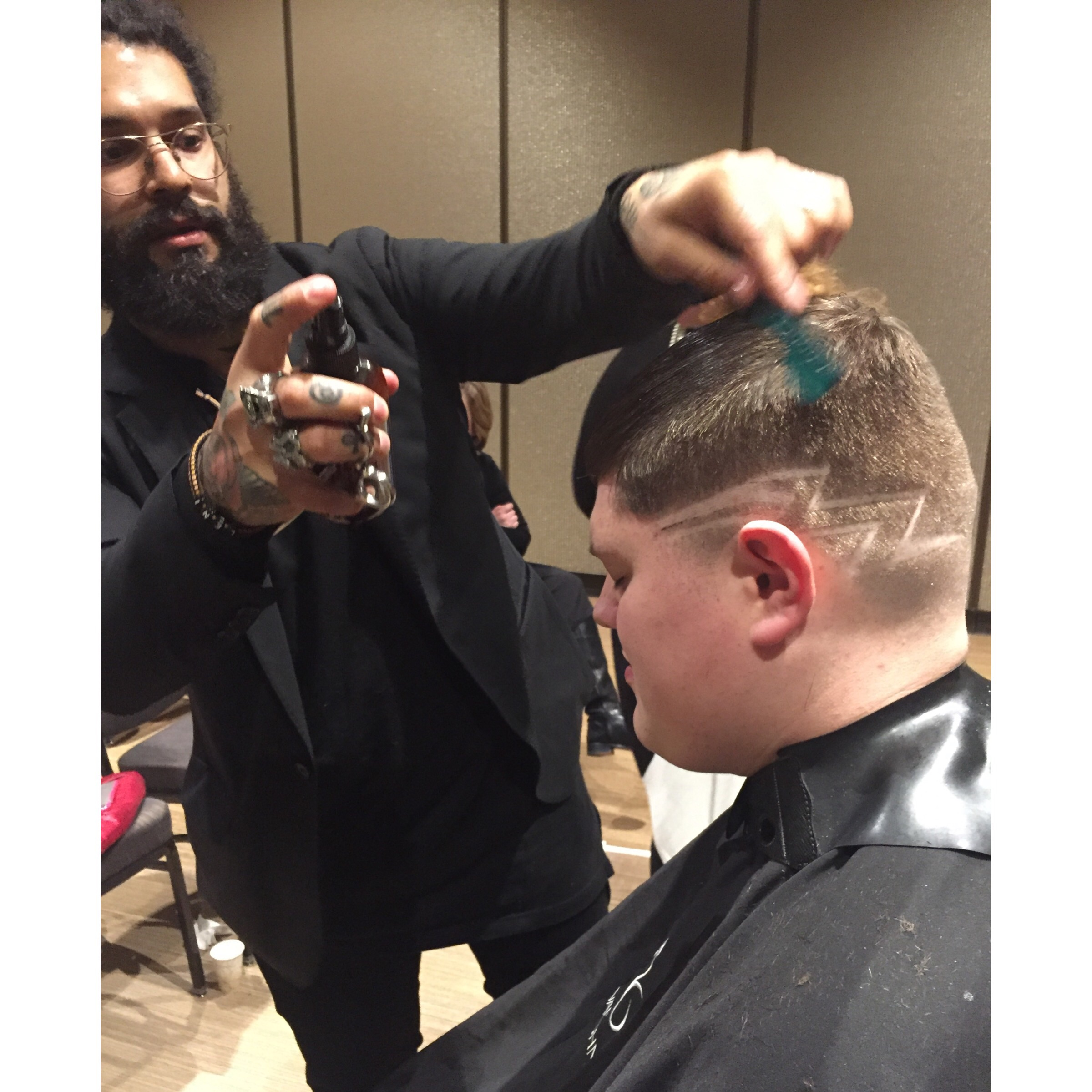 Manny, the barber from V76