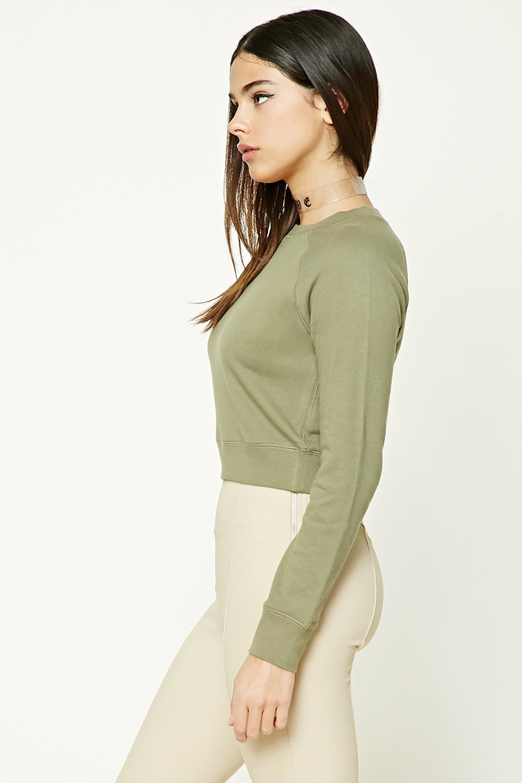 Cropped Sweater: Sweater $10