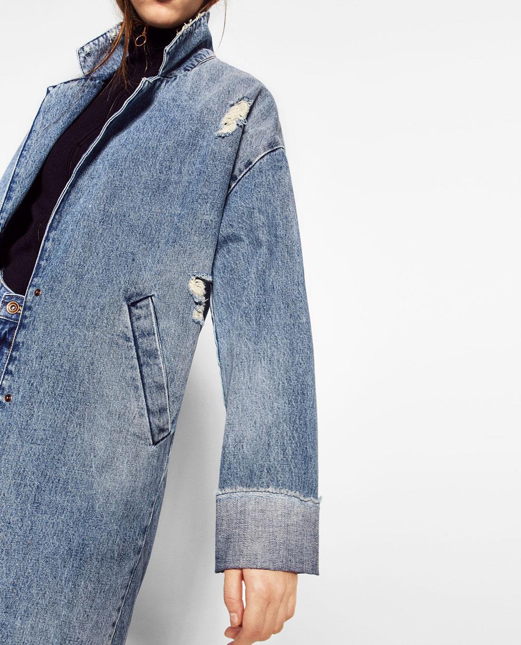 Jean jacket: ZARA $39.95