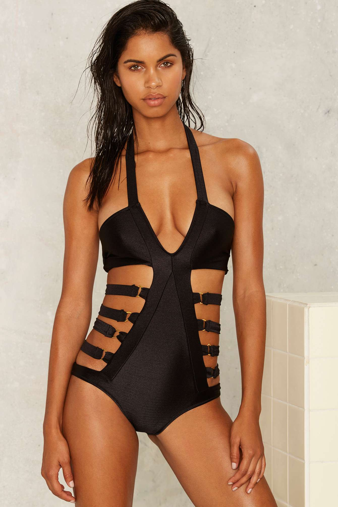 Bathing Suit: Nastygal.com $26.68
